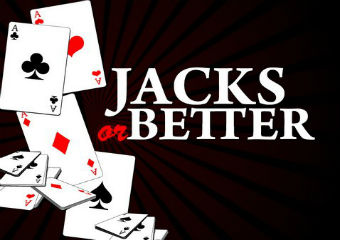 Jacks or better slot logo