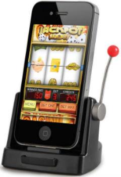 Iphone casino machine image