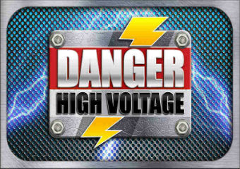 Danger High Voltage slot image