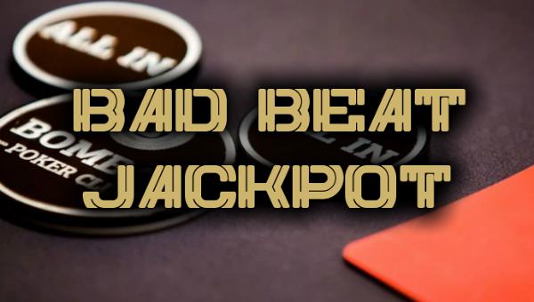 Bad beat jackpot image
