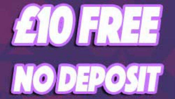 £10 free no deposit required banner