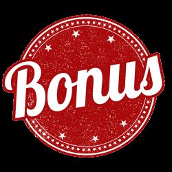 Bonus sign