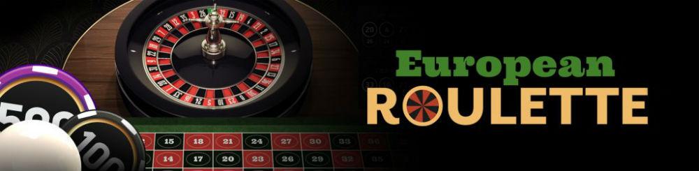 European roulette banner