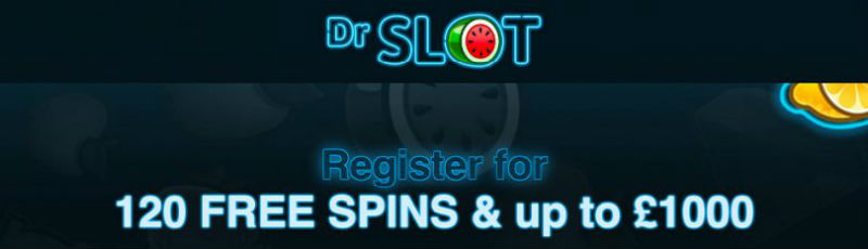 Dr Slot Welcome bonus banner