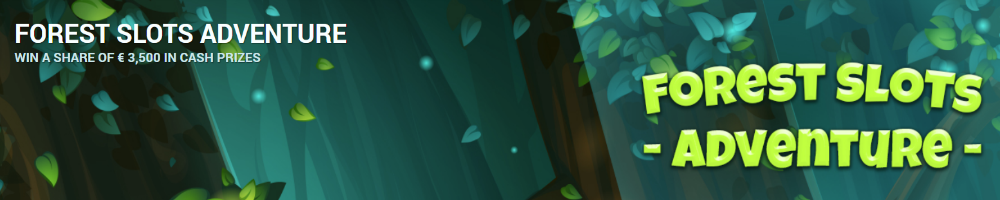 Forest Slots Adventure banner