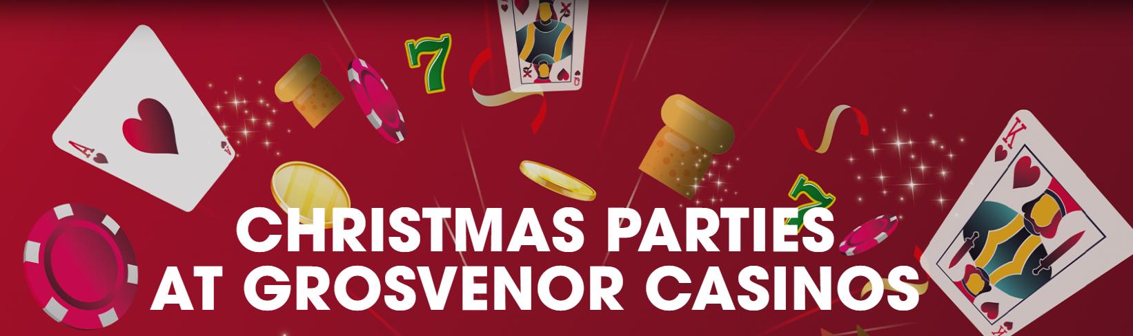 Grosvenor Casino Christmas Party.