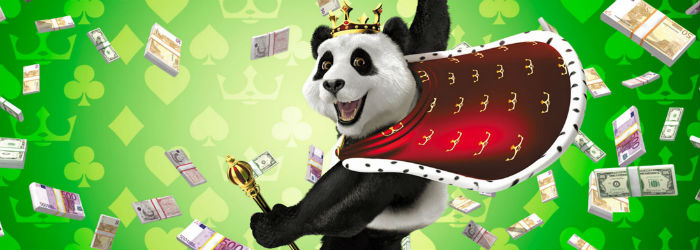Royal Panda with money image